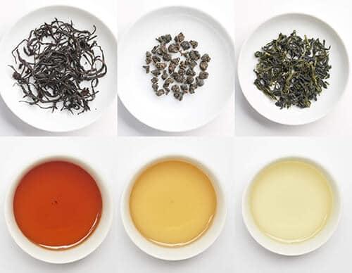 綠茶烏龍茶紅茶咖啡因差別