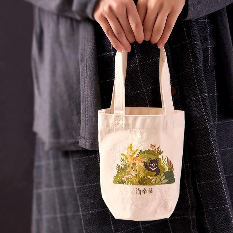 台灣石虎帆布環保袋